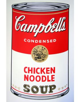 Campbell's Soup Chicken Noodle - Andy Warhol