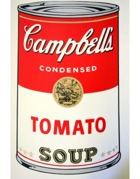 Campbell's Soup Tomato - Andy Warhol
