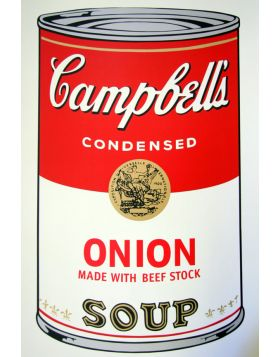 Campbell's Soup Onion - Andy Warhol