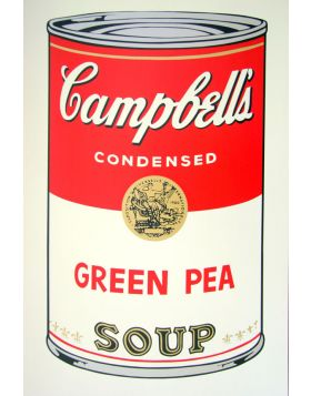 Campbell's Soup Green Pea - Andy Warhol