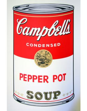 Campbell's Soup Pepper Pot - Andy Warhol