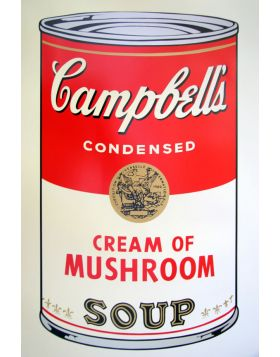 Campbell's Soup Cream of Mushroom - Andy Warhol
