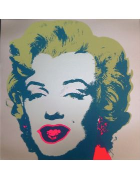 Marilyn Monroe-Blonde On Gray 11.26