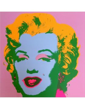 Marilyn Monroe-Yellow//Blue On Pink 11.28