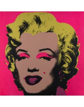 Marilyn Monroe-Blonde On Pink 11.31 - Andy Warhol