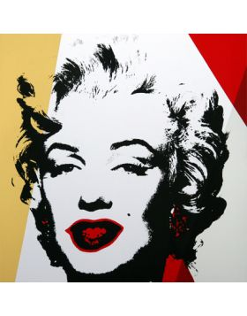 11.37 Golden Marilyn - Andy Warhol