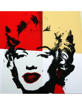 11.38 Golden Marilyn - Andy Warhol