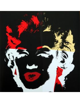 11.39 Golden Marilyn - Andy Warhol