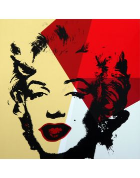 11.42 Golden Marilyn - Andy Warhol