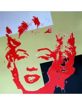 11.44 Golden Marilyn - Andy Warhol