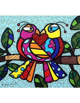 Love Birds - Britto