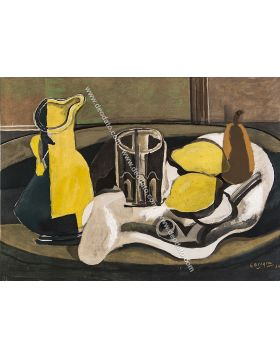 Still life and lemons