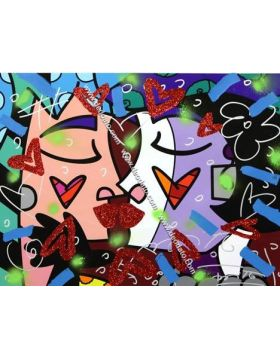 Little kiss - Britto