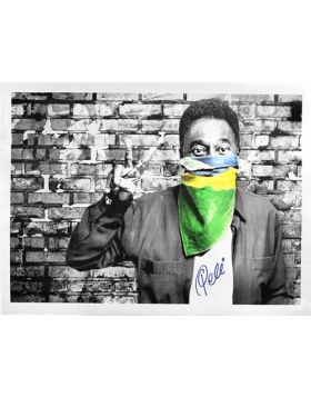The King Pele - Flag Portrait