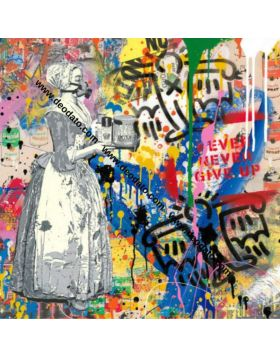 Chocolate Vandal - Paper - Mr Brainwash