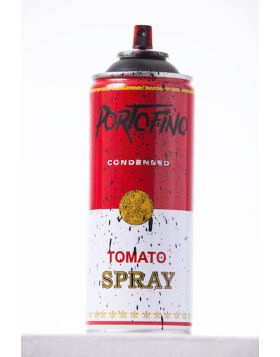 Mr Brainwash - Spray Can - Portofino Black