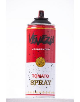 Mr Brainwash - Spray Can - Venice Black