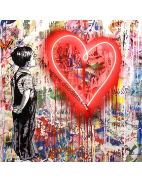 With all my love - Mr Brainwash