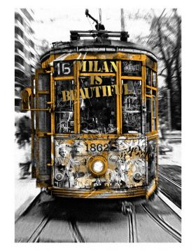 Tram Milan is Beautiful - Gold