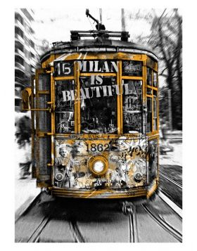 Tram Milan is Beautiful - Silver
