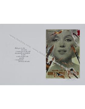 Mimmo Rotella - Seridecollage
