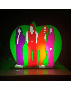 The Apple - Beatles - (Scultura in perspex luminosa)