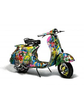 Vespa Mr.Brainwash