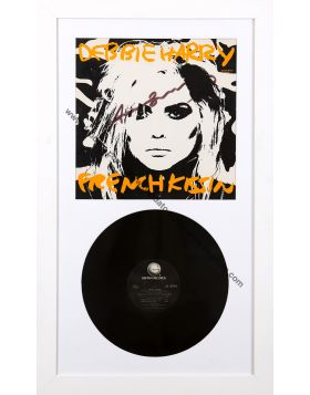 French Kissin, Debbie Harry signed album