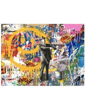 Spray happiness - Mr Brainwash