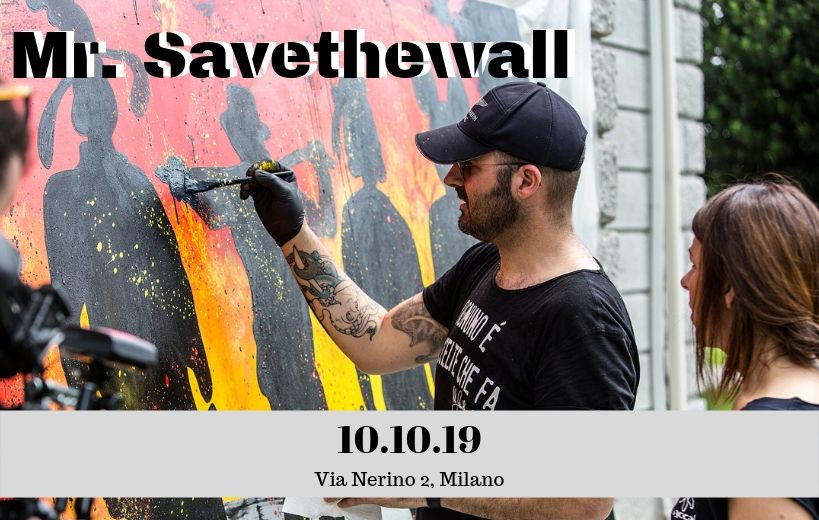 Mostra Mr.Savethewall - International Language - 2019