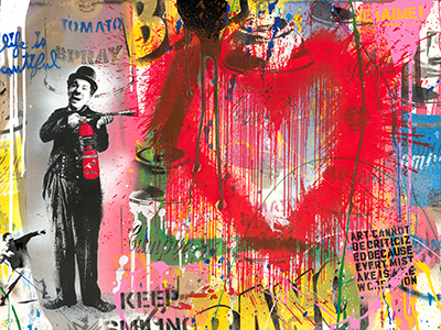New Artworks Mr Brainwash