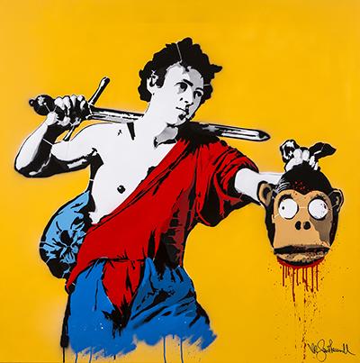 Street Art is Dead: Mr.Savethewall decapita Banksy