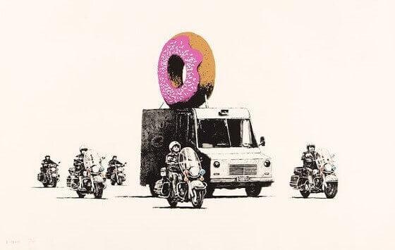 Banksy: Oeuvres - Prix de la Street Art de l'Artiste Anonyme