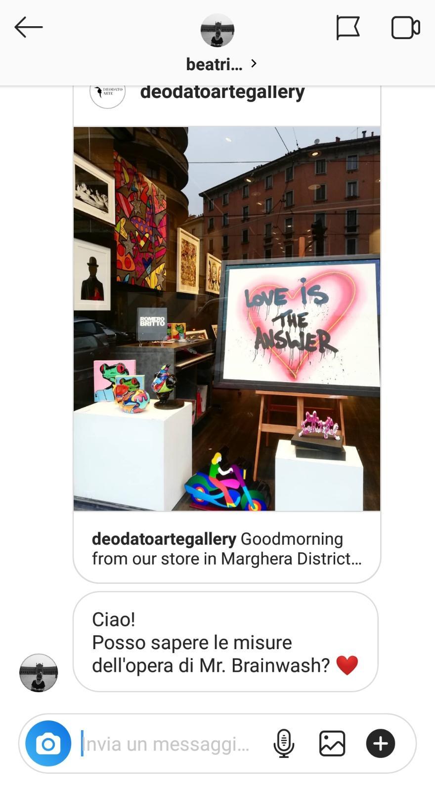 Deodato Arte Gallery Instagram @deodatoartegallery