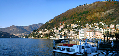 View of Como Lake
