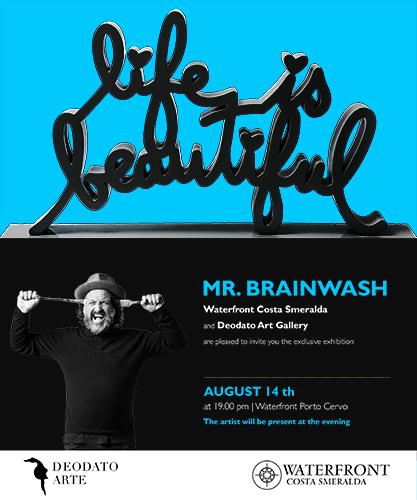 Invito Mr.Brainwash a Porto Cervo