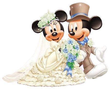 Mickey e Minnie Sposi