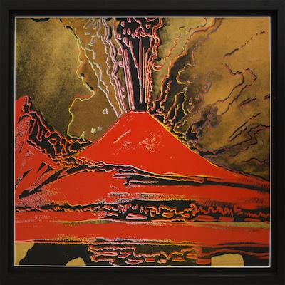 Vesuvius - Opera Andy Warhol -Vesuvio Vulcano