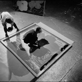 Flowers: Andy Warhol durante la realizzazione