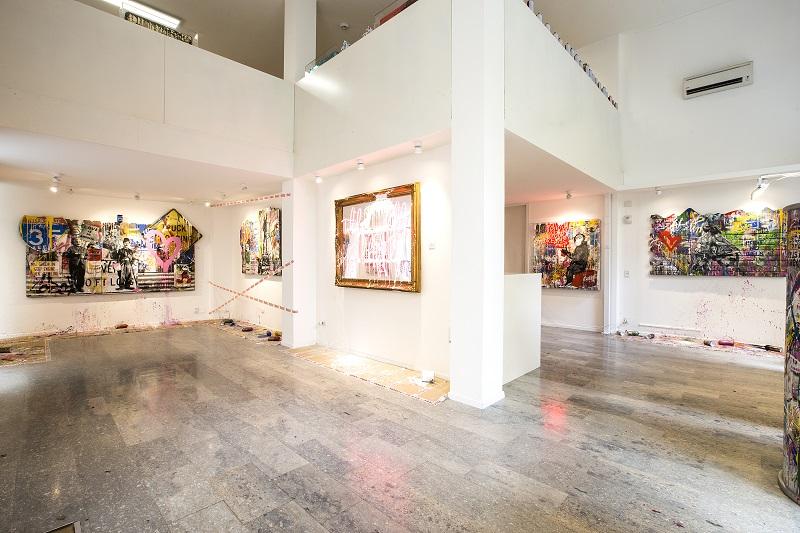 Galleria d'Arte Contemporanea - Milano - Esposizione Interna