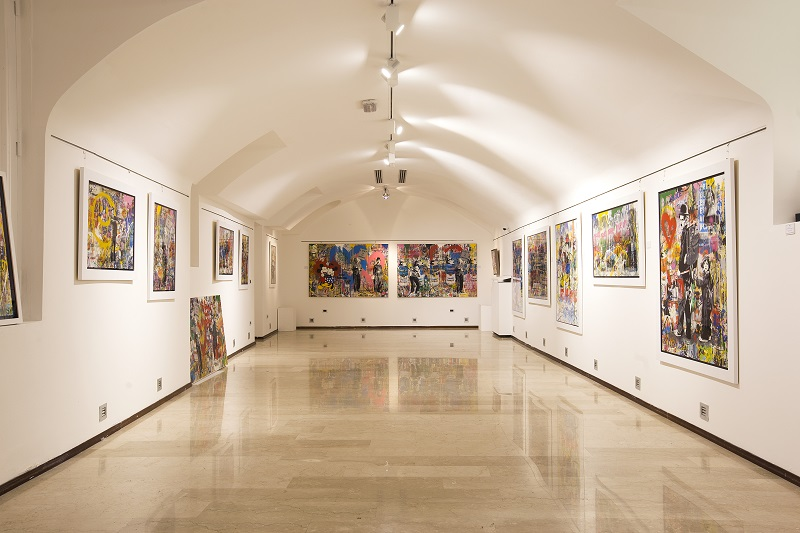 Galleria Arte Milano - Interno Galleria