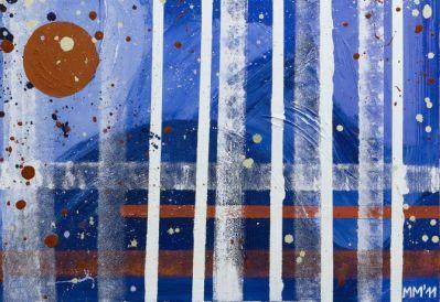 Dipinti a olio su tela dell'artista Manuela Manes